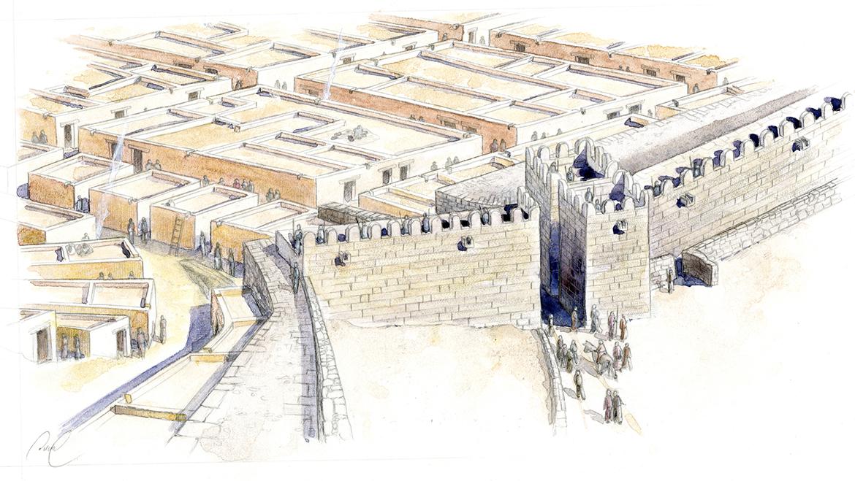 saint blaise restitution ville basse époque hellénistique Sandrine Duval basse def